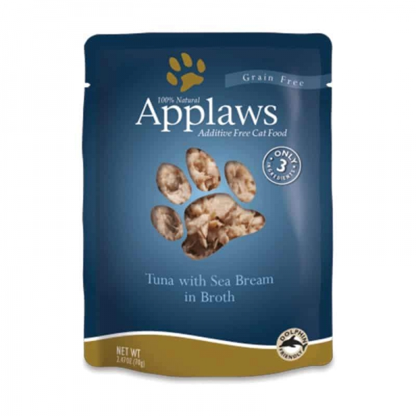 Applaws-Pouch-Tuna-Sea-Bream-70g