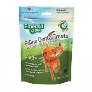 Emerald-Pet-Cat-Cat-Dental-Treat-Catnip