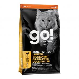 GO! Sensitivities LID GF Duck 3LB - Cat