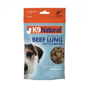 K9-Natural-Beef-Lung-Protein-Bites-Air-Dried-50g