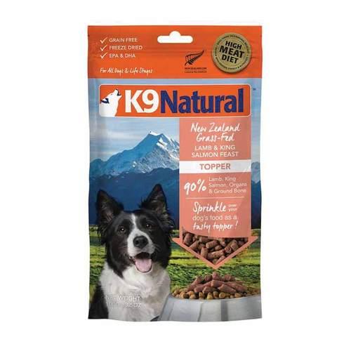 K9-Natural-Lamb-Salmon-Feast-Topper-100g