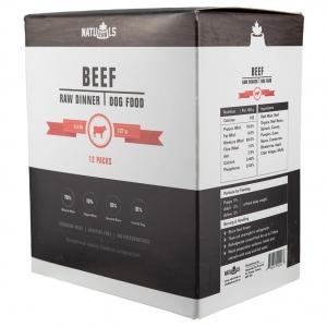 Frozen - Raw Dinner Beef & Veggie 227GM