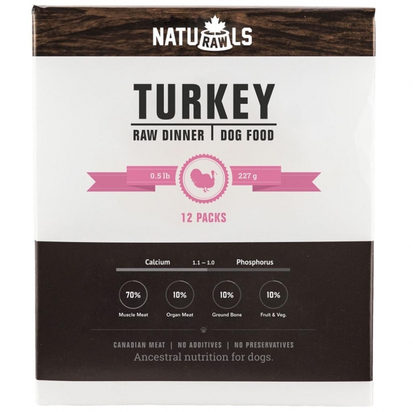 Frozen - Raw Turkey & Veggie 227GM