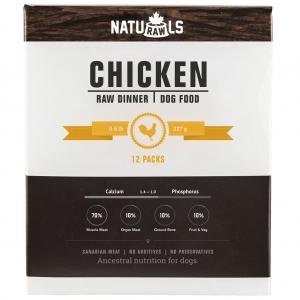 NATURAWLS Frozen - Raw Chicken & Veggie 227GM