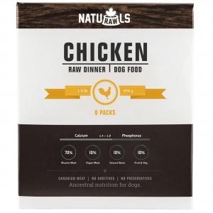 NATURAWLS Frozen - Raw Chicken & Veggie 454GM