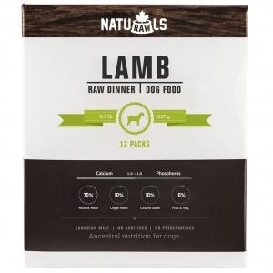 NATURAWLS Frozen - Raw Lamb & Veggie 227GM