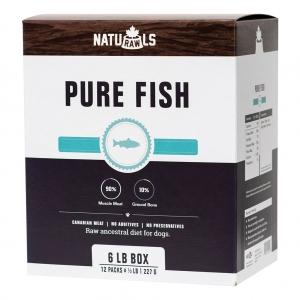 NATURAWLS Frozen - Raw Pure Salmon & Trout 227GM
