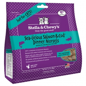 STELLA & CHEWY'S Dinner Morsels Salmon & Cod 3.5OZ