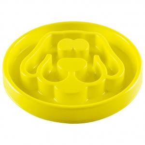 Slow Feeder Yellow Small 8x8