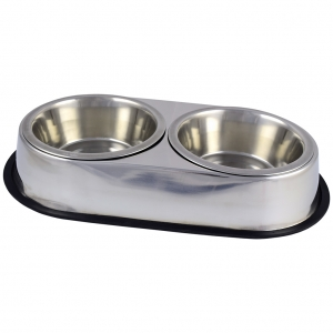 Stainless Steel Double Diner Boxed 64OZ