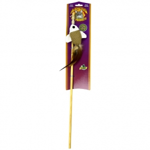 Teaser Wand With Dangle Fish